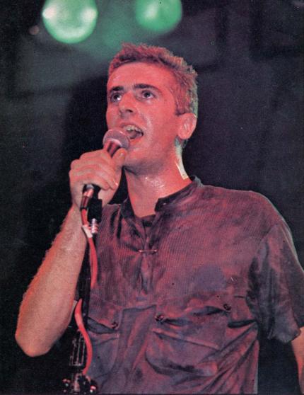 Palo Pandolfo en el IV Festival de Chateau Rock, el 4 de marzo de 1988.