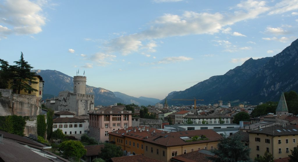 Trento Italy  City new picture : Description Panorama Trento Italy