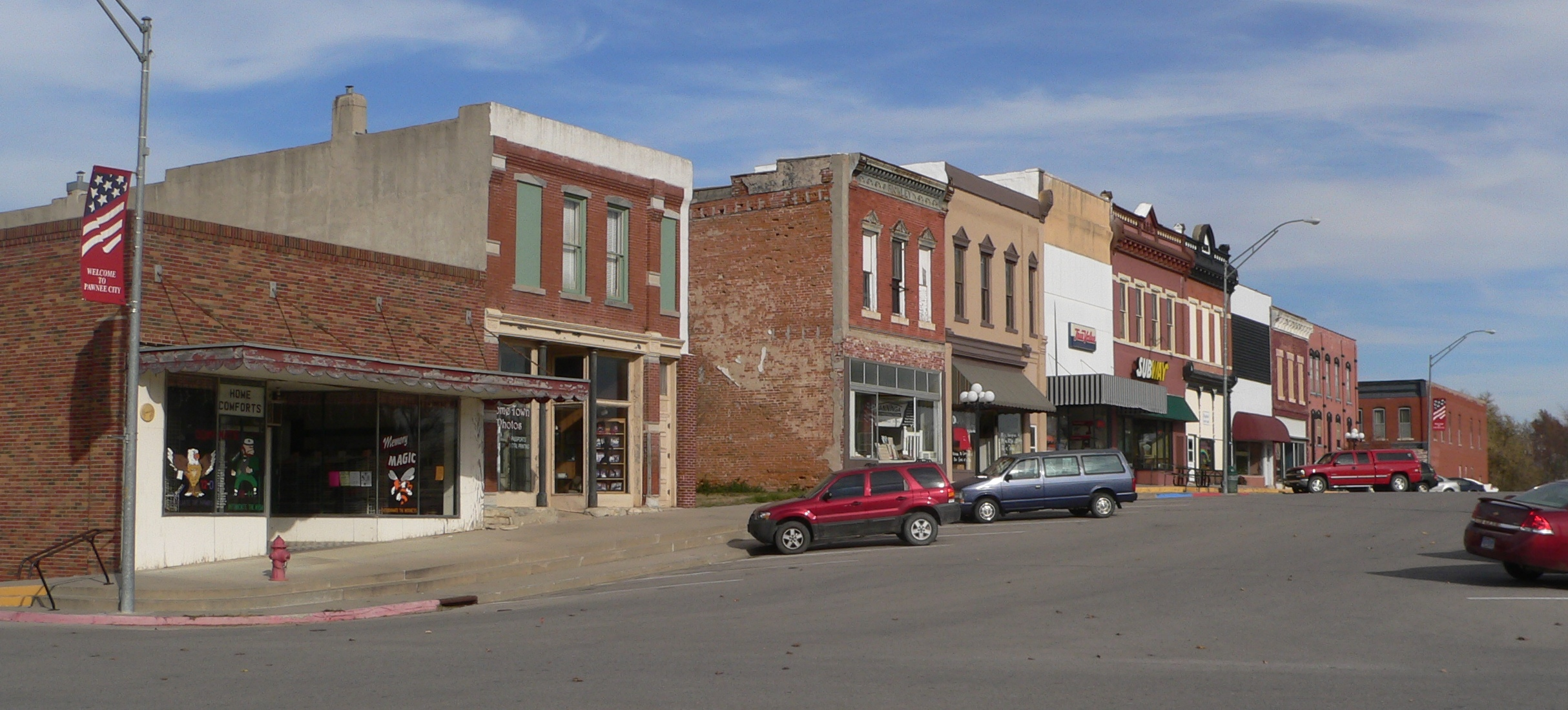 Pawnee City Nebraska >> File Pawnee City Nebraska 6th From F Jpg Wikimedia Commons