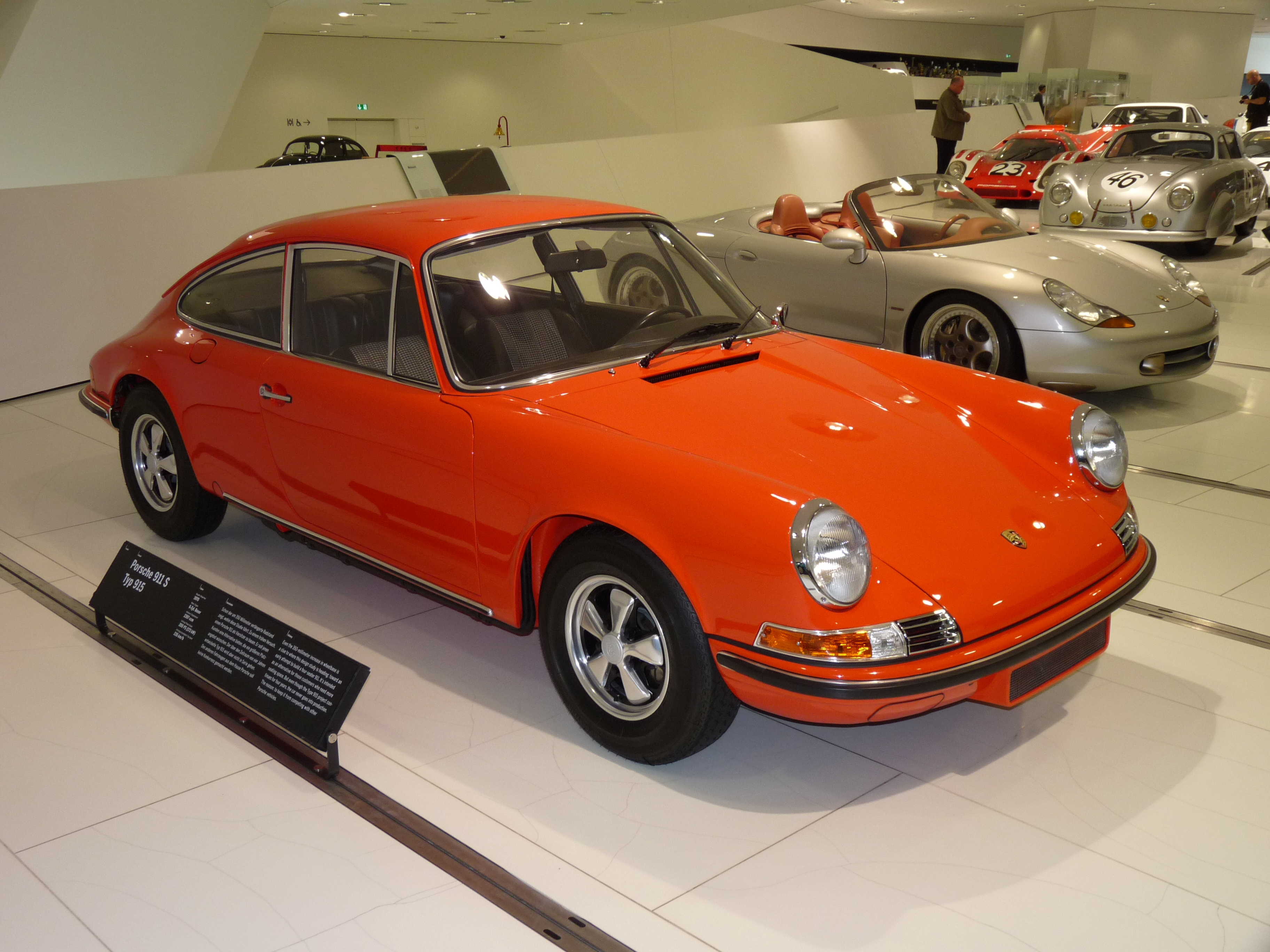 File:Porsche 911 S Typ 915 Prototype 1970 frontright 2010-03-12 A
