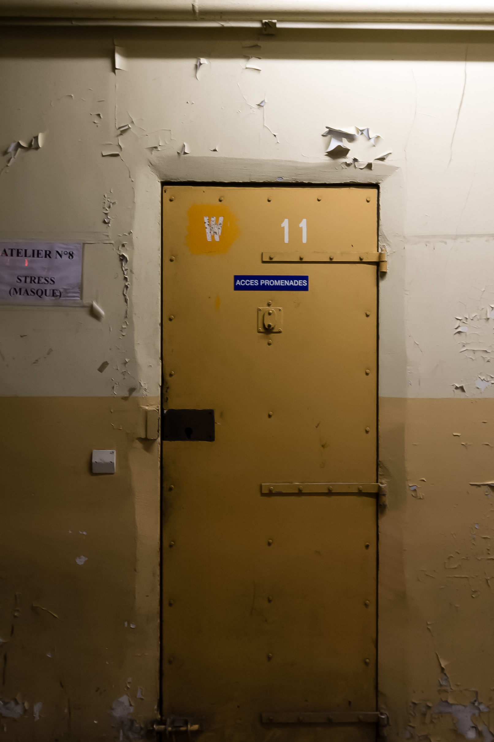 File porte dans la prison jacques cartier rennes france for Laporte jail