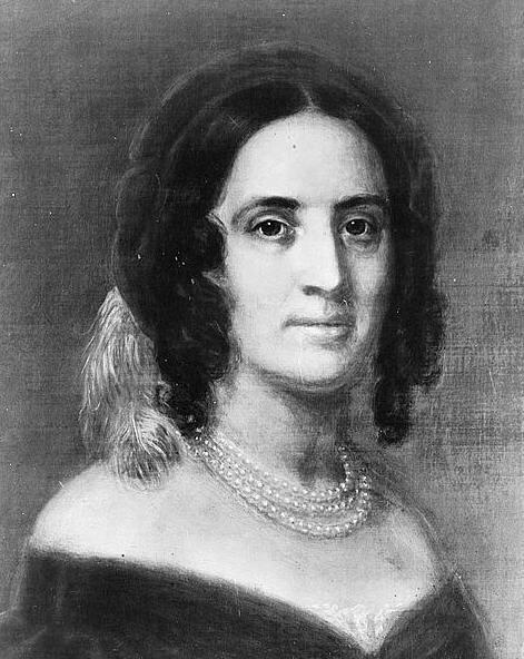 file portrait of sarah childress polk wife of president j k polk