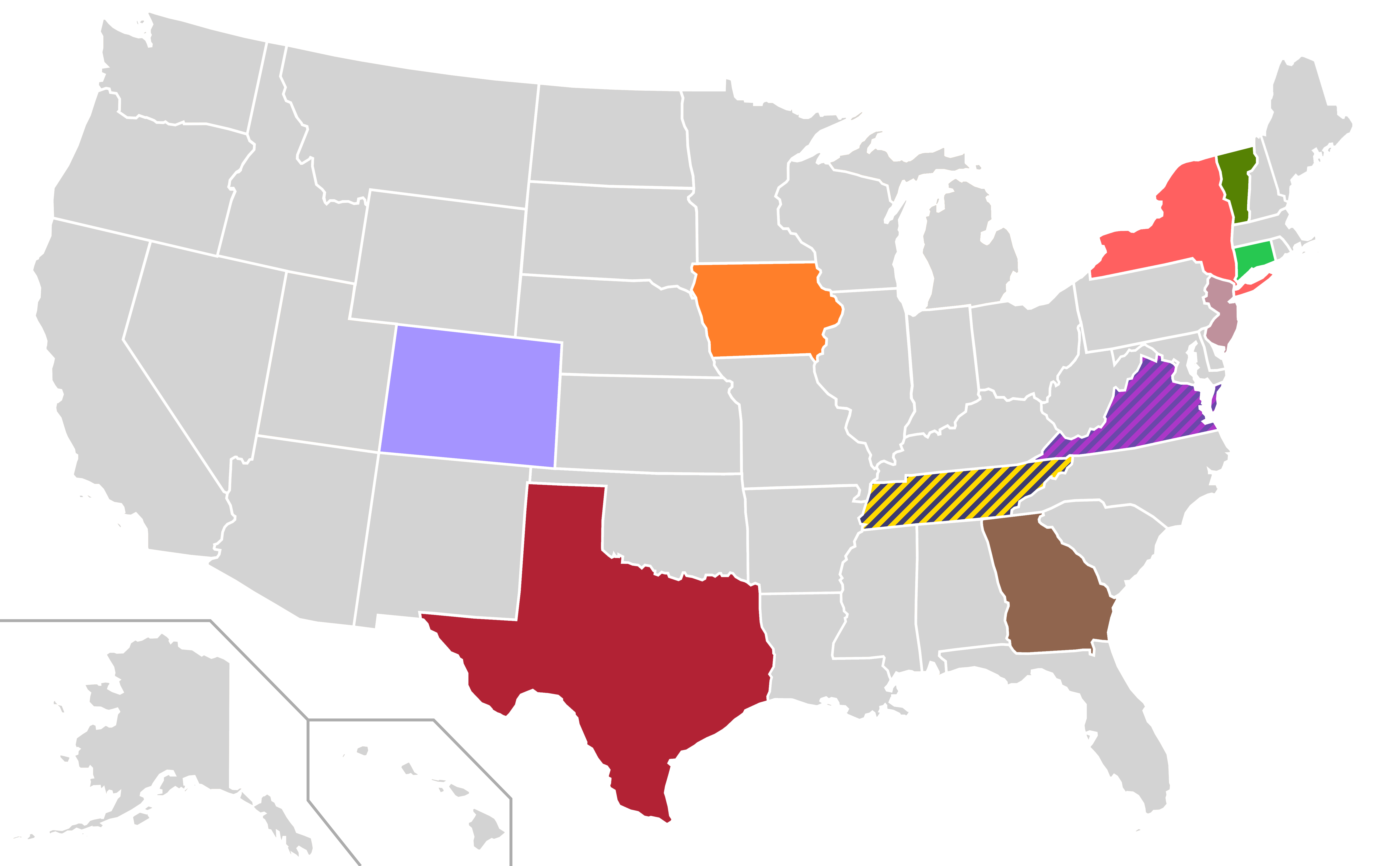 File Presidential Candidate Home State Locator Map 2000 United States Of America