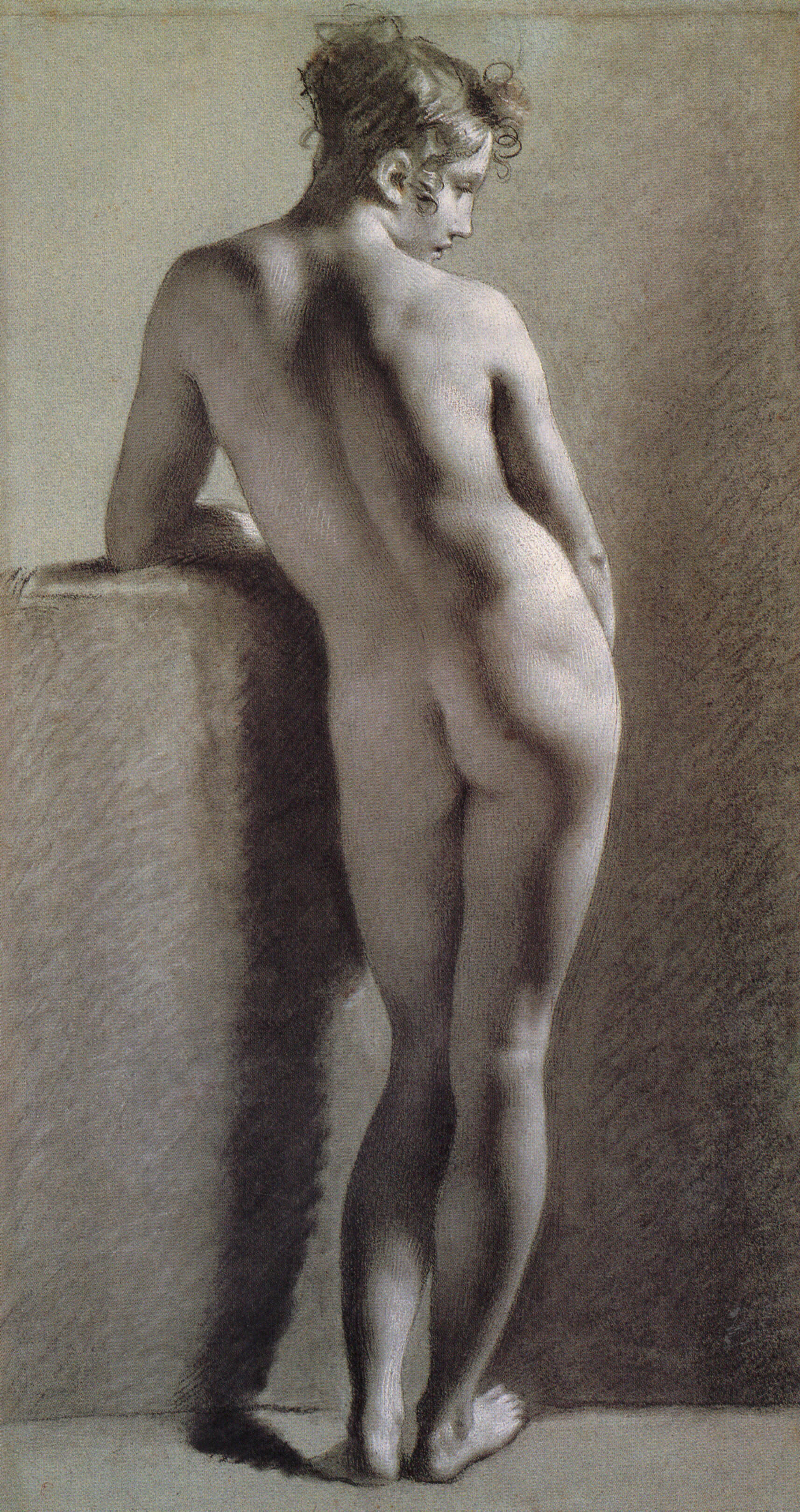 Datei:Proud-hon Pierre Paul Standing Female Nude Seen from the Back.jpg