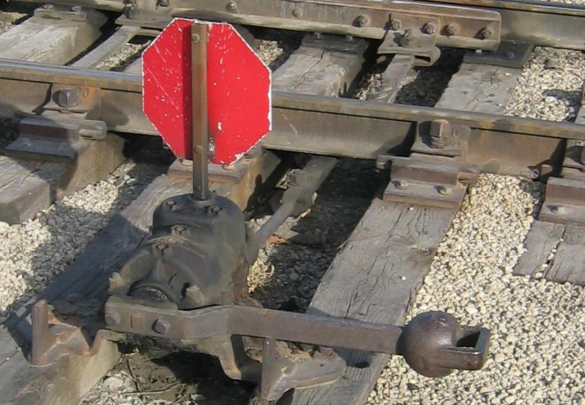Levers Train Tracks O N : File railroad switch grain elevator district minneapolis