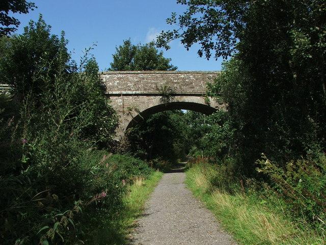 Railway bridge over the South Tyne Railway - geograph.org.uk - 492143