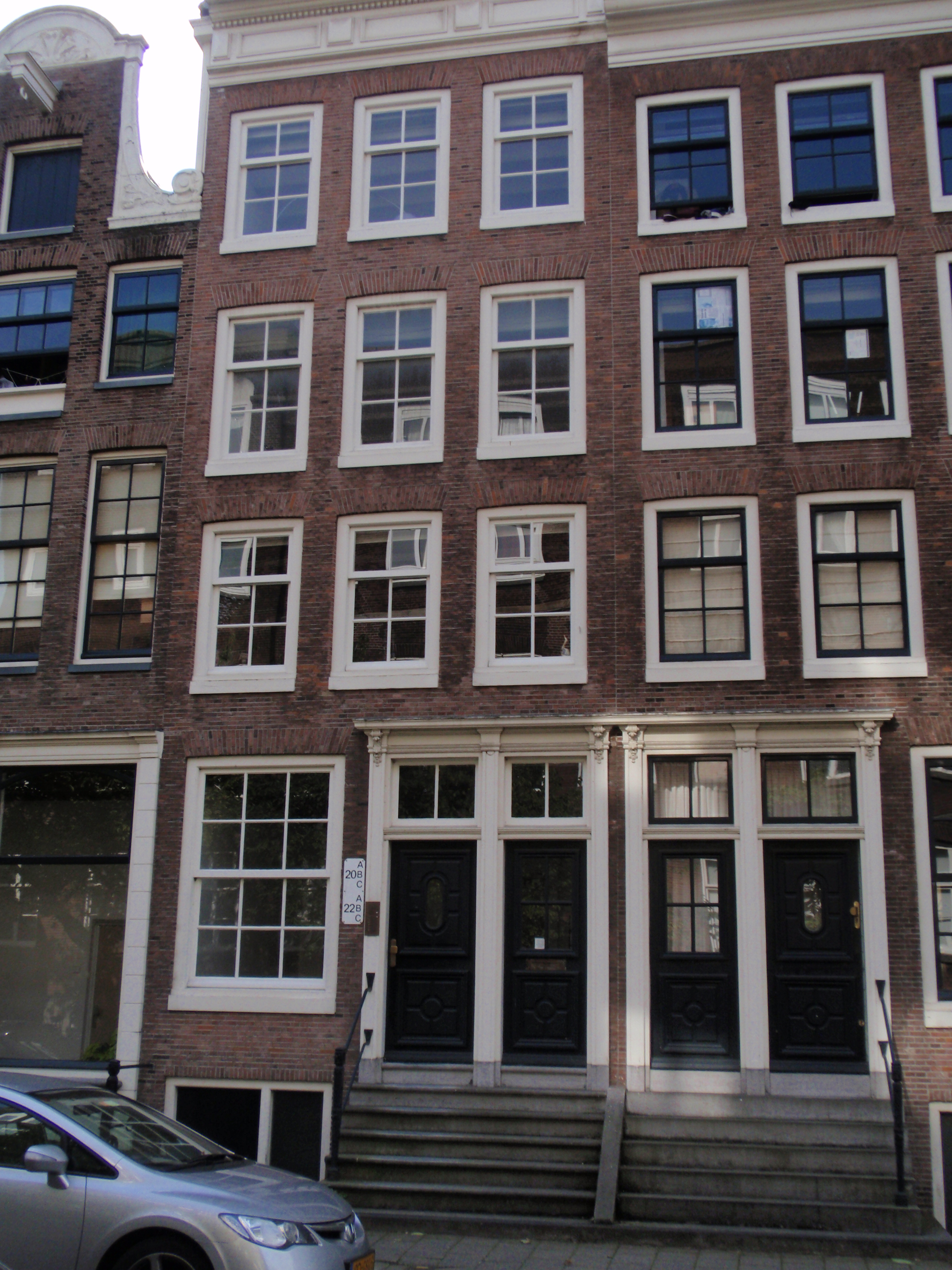 Huis met gevel oorspronkelijk halsgevel in amsterdam monument - Huis gevel ...