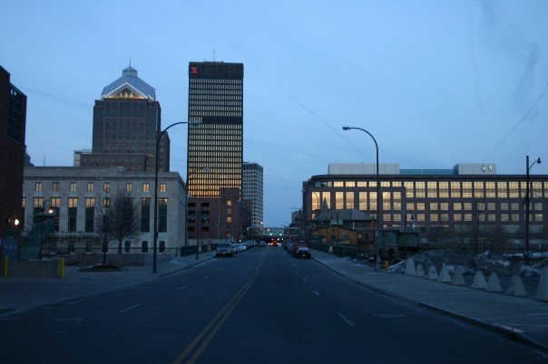 File:Rochester - Court Street at night.jpg