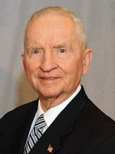 Ross Perot, former United States presidential candidate in the 1992 and 1996 elections