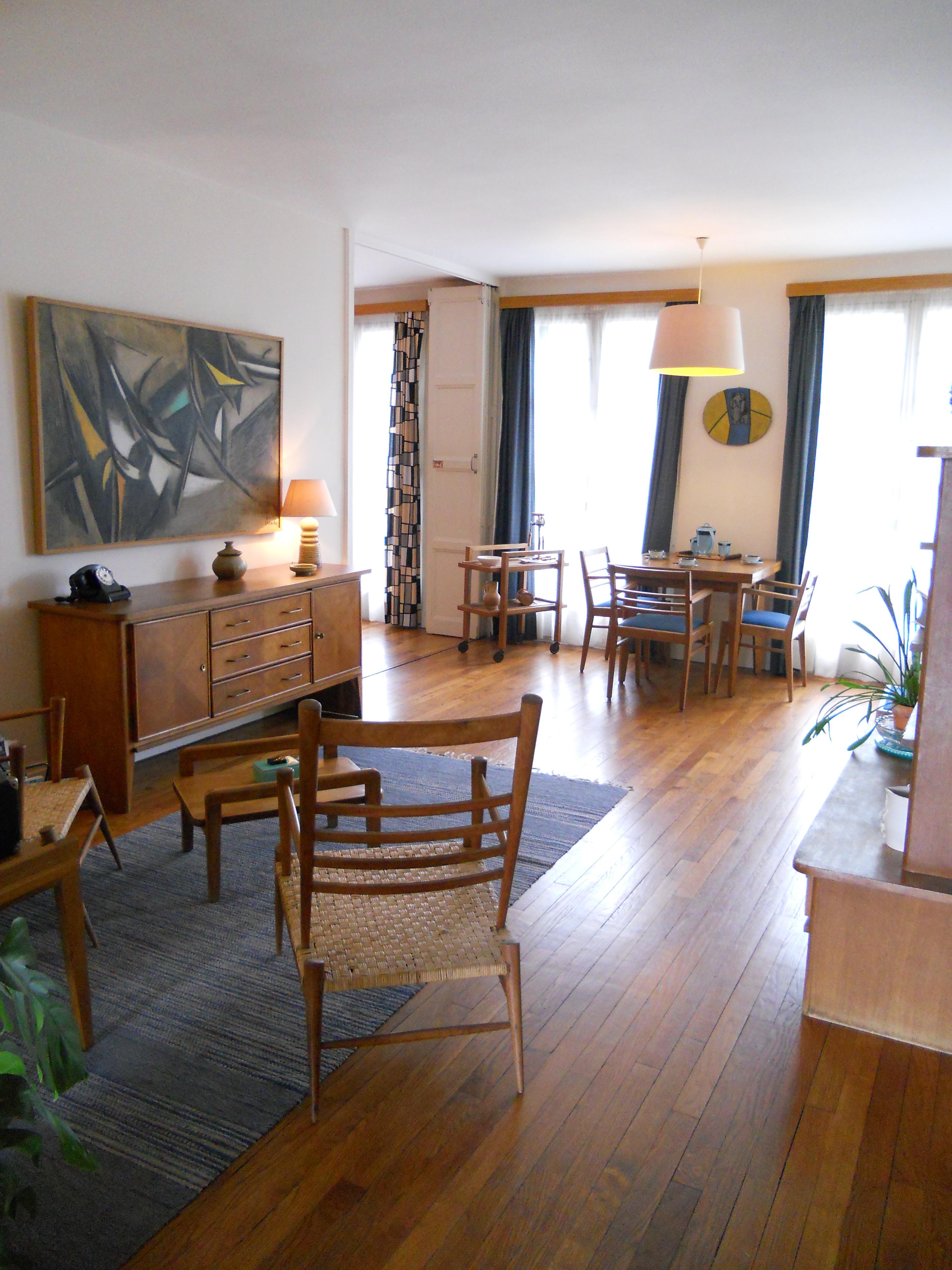 file salle de s jour de la maison t moin perret au havre. Black Bedroom Furniture Sets. Home Design Ideas