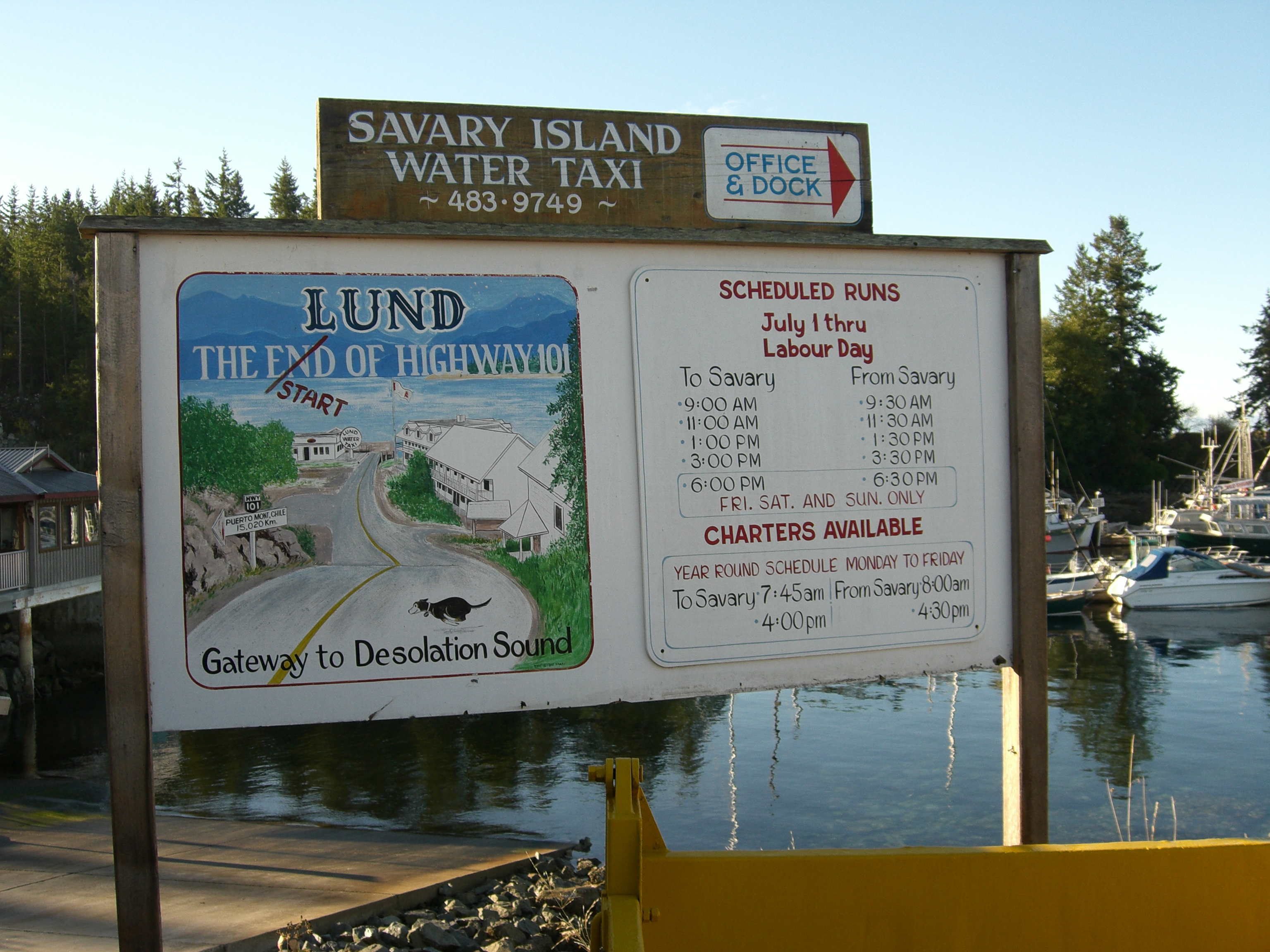 Savary Island Bc Ferry