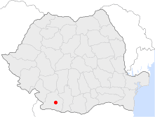 Location of Segarcea