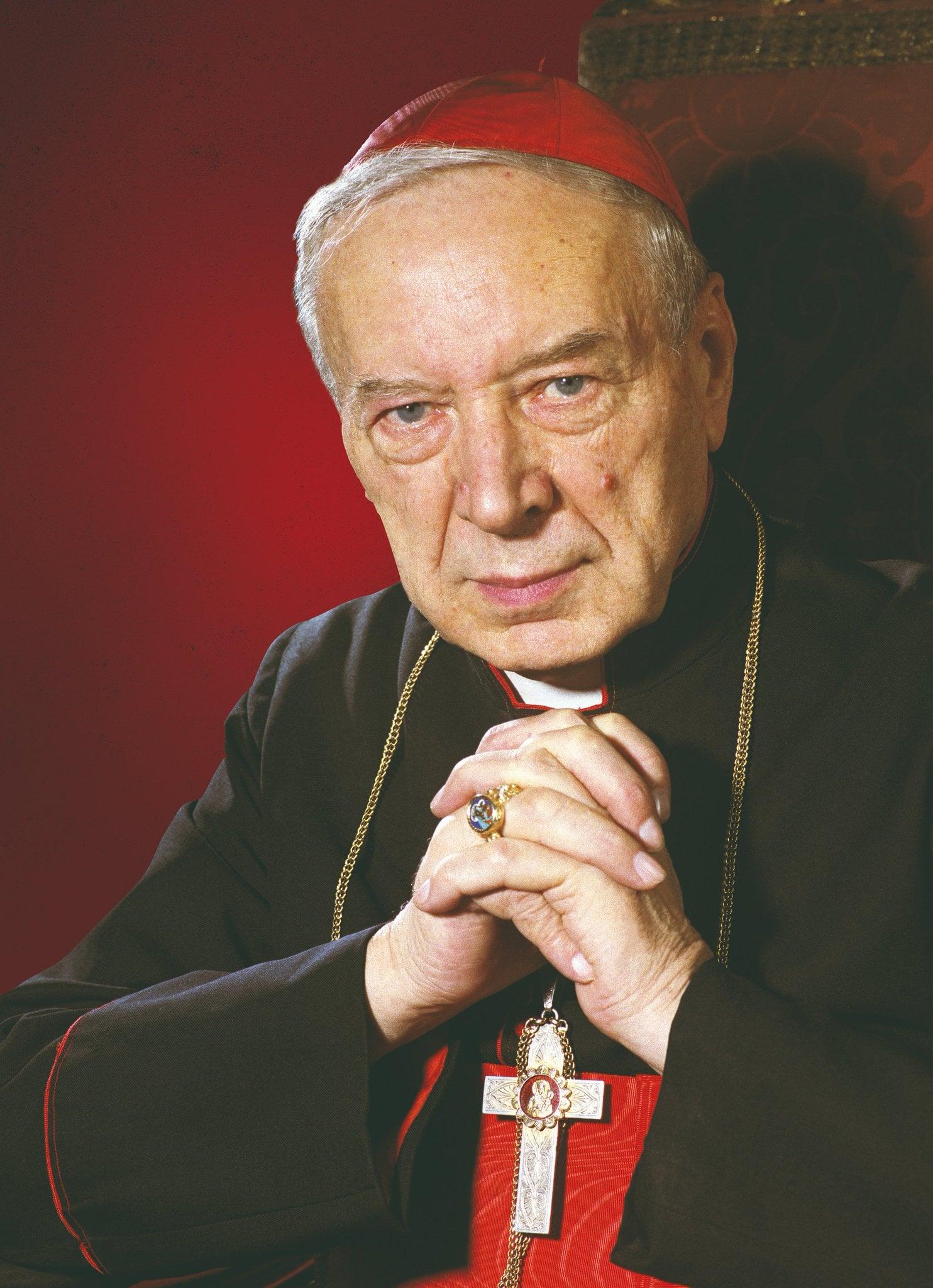 Znalezione obrazy dla zapytania Wyszyński i różaniec