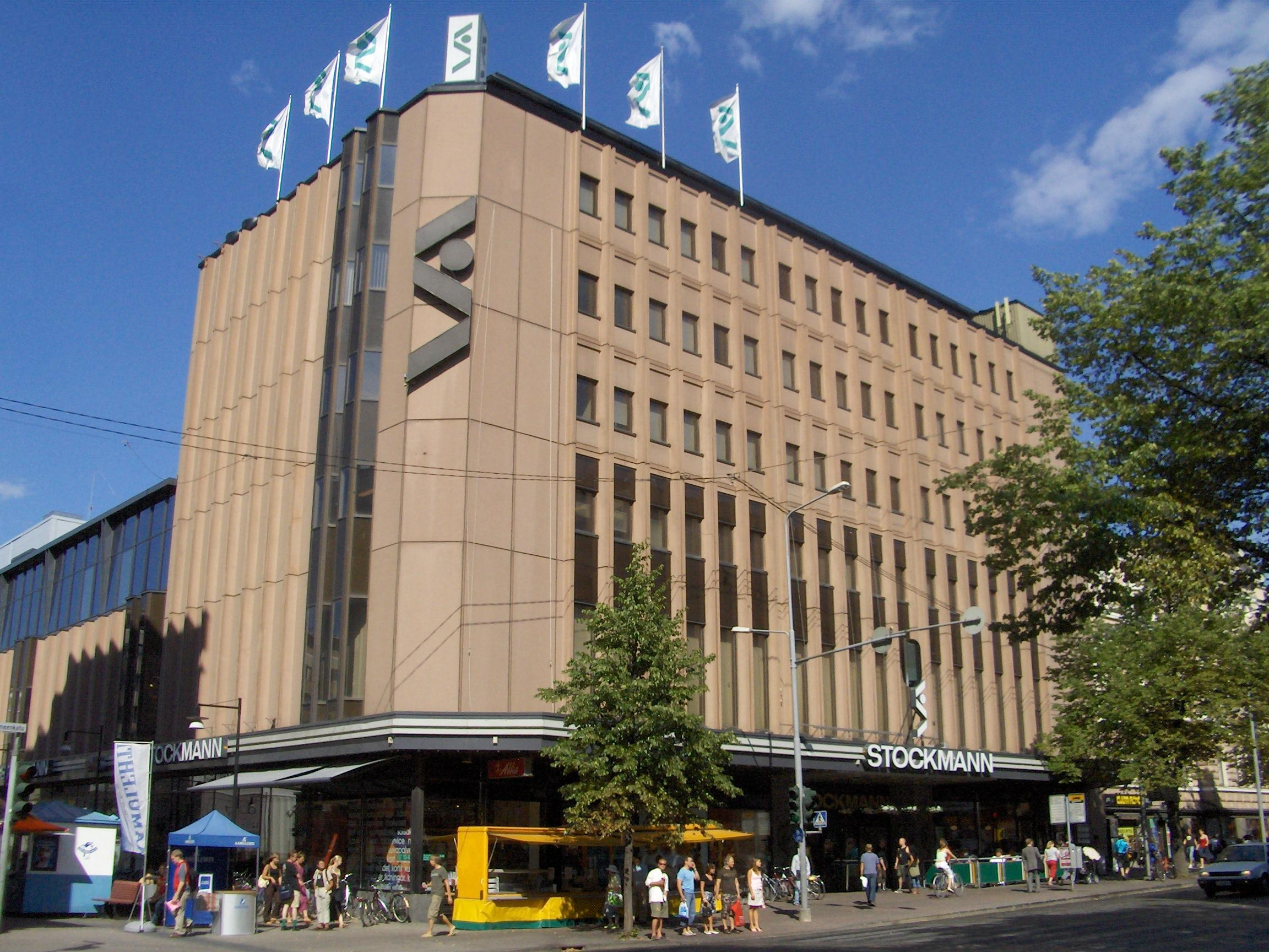 Stockmann Tampere Laukut : File stockmann department store g wikimedia commons