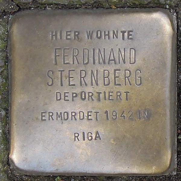 Stolperstein für Ferdinand Sternberg