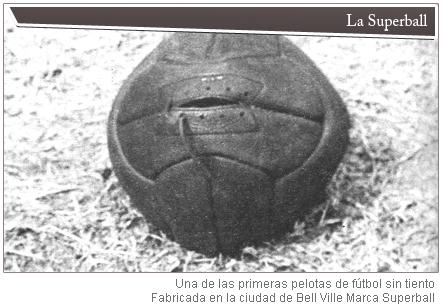 En Argentina se inventó la pelota de fútbol moderna
