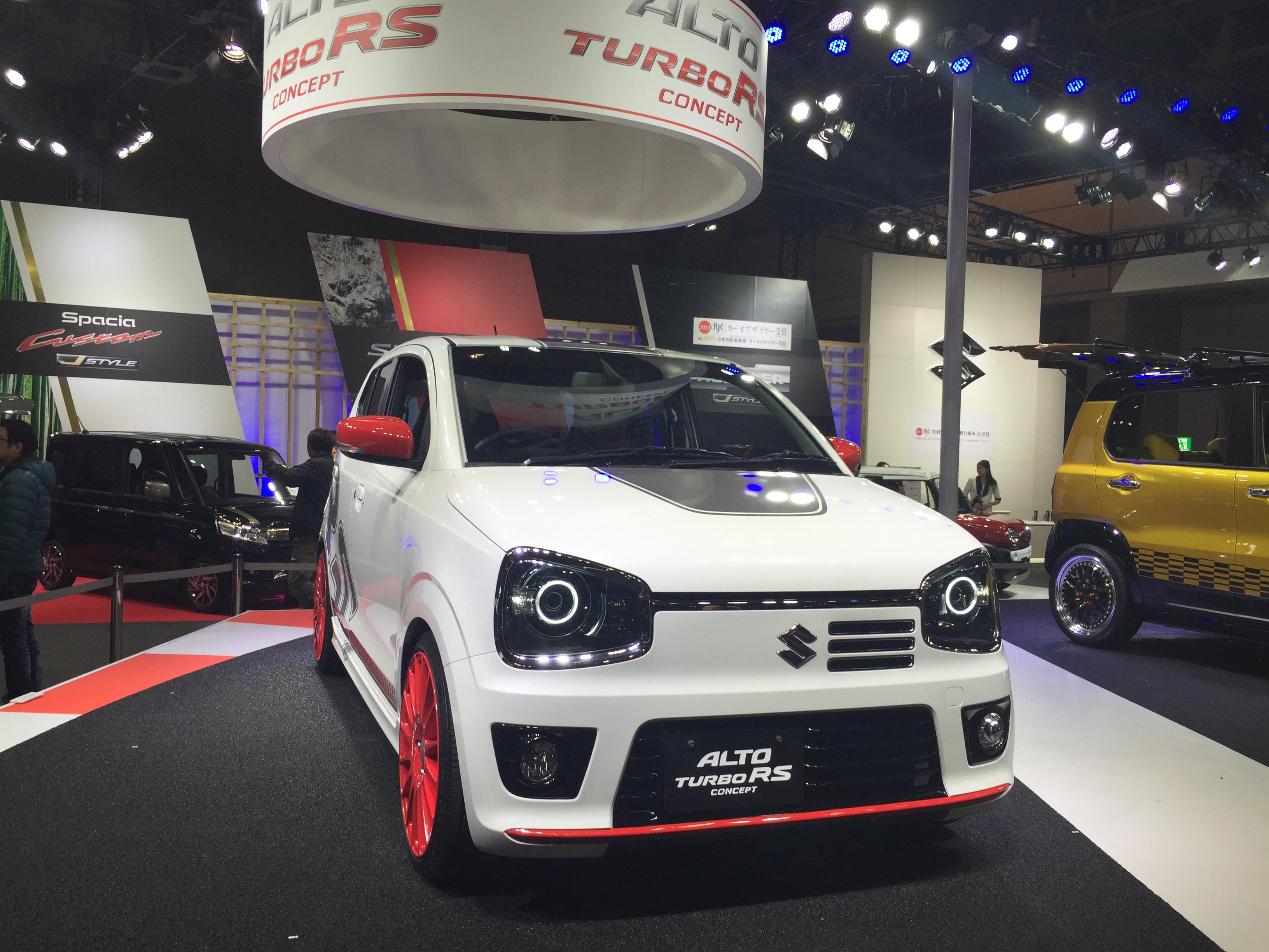 Description suzuki alto turbo rs concept front right 2015 tokyo auto - File Suzuki Alto Turbo Rs Concept Front Tokyo Auto Salon 2015 Jpg