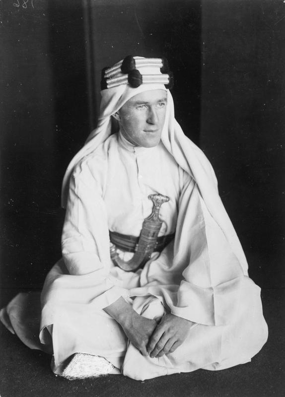 T E Lawrence, December 1917