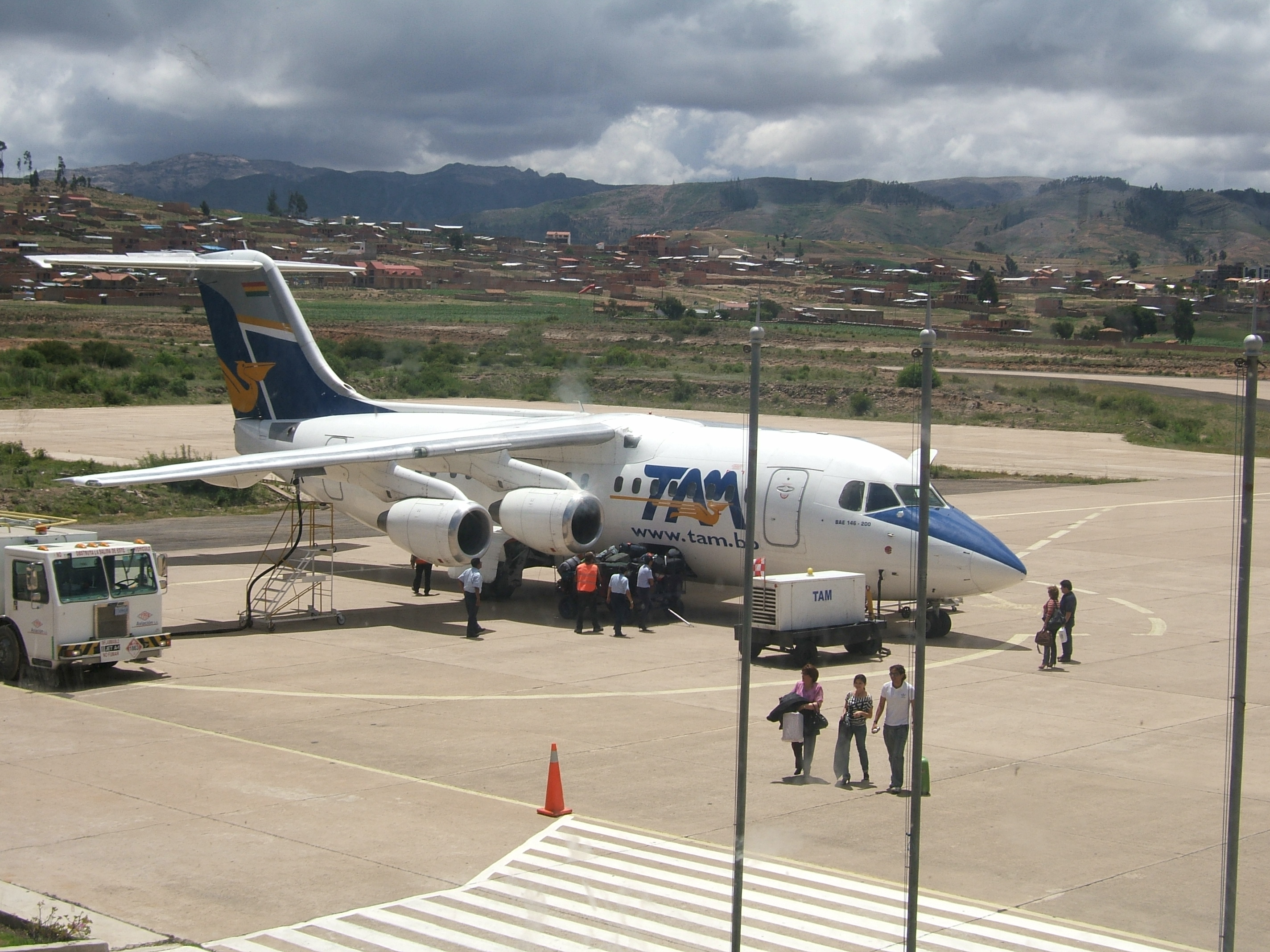 Flights from santa cruz de la sierra to sucre