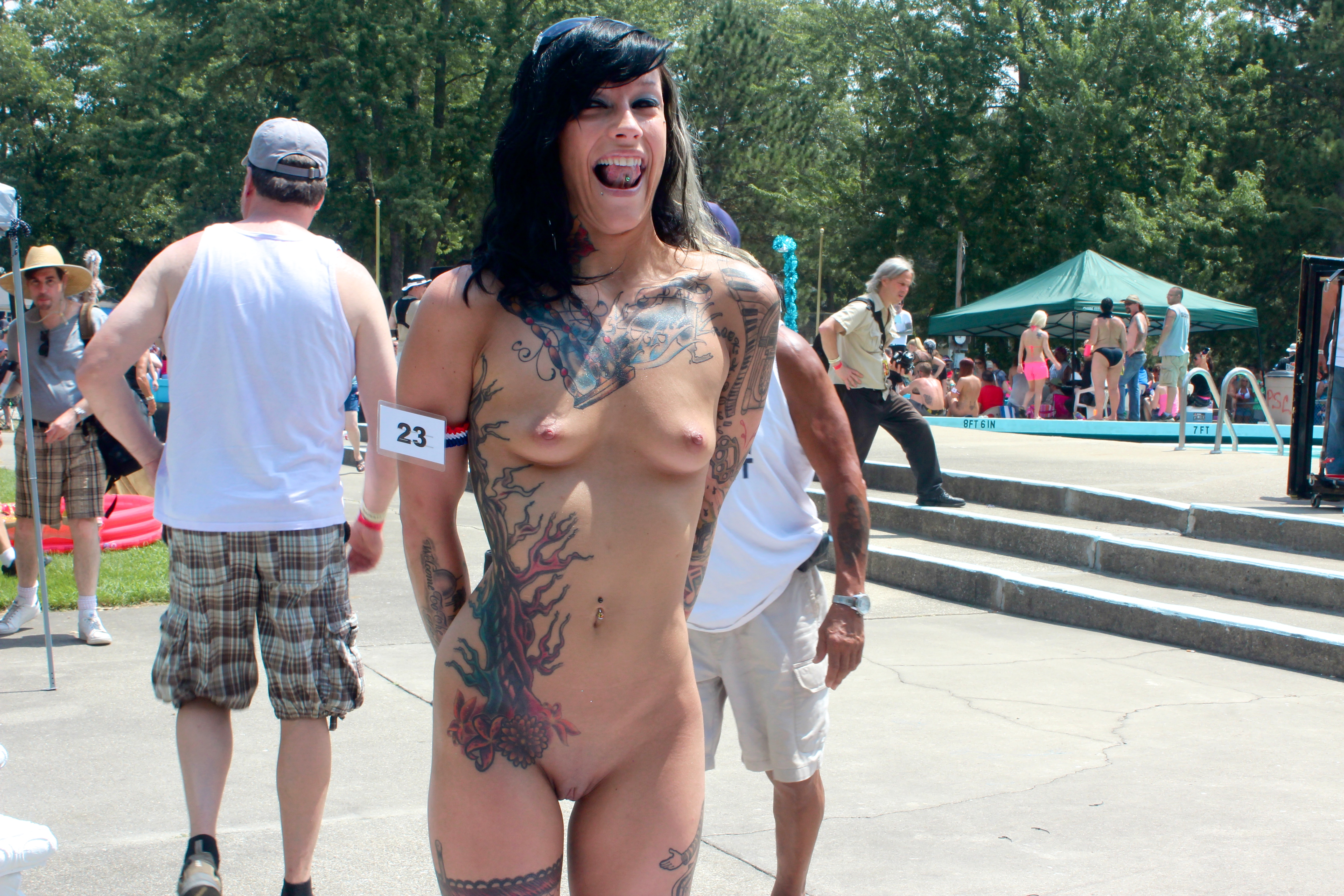 from Malakai free naked tattooed girls