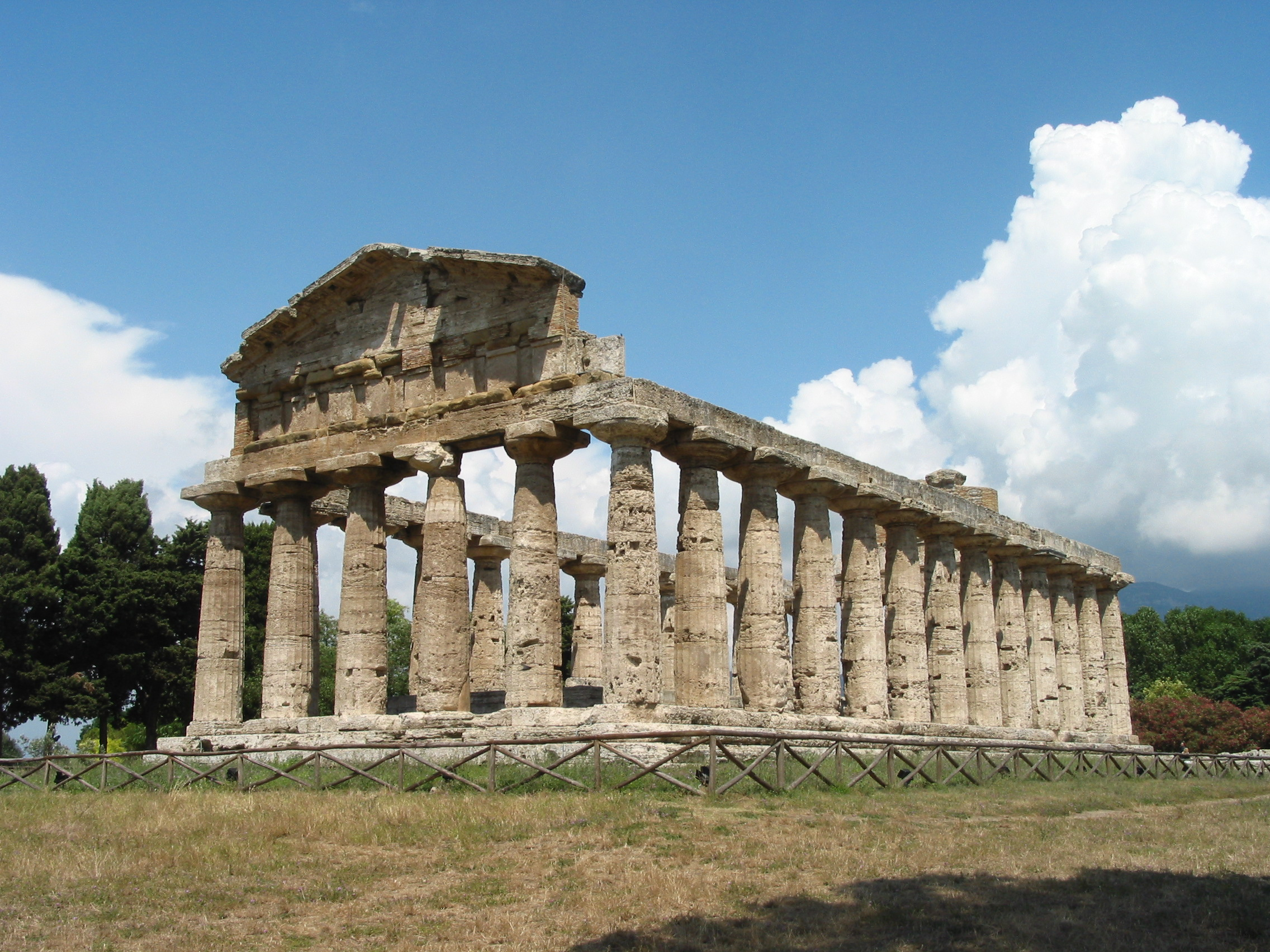 temple of athena paestum analysis Paestum, also known by its original greek name as poseidonia the third temple, which was dedicated to athena, is also known as the temple of ceres the oldest temple is the temple of hera i which was built c 550 bce.