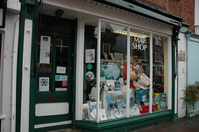 The Map Shop File:The Map Shop, Upton upon Severn   geograph.org.uk   307656
