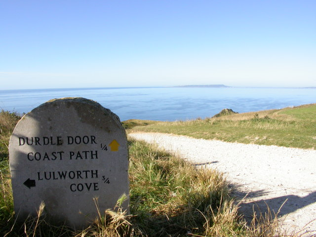 The way to Durdle Door - geograph.org.uk - 368357
