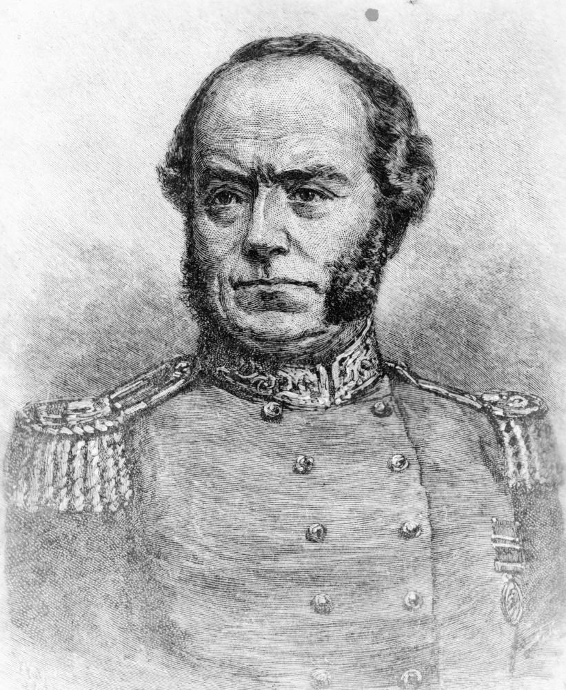 Depiction of Thomas Livingstone Mitchell