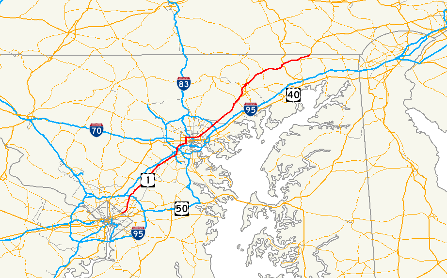 US Route In Maryland Wikipedia - Maryland wikipedia