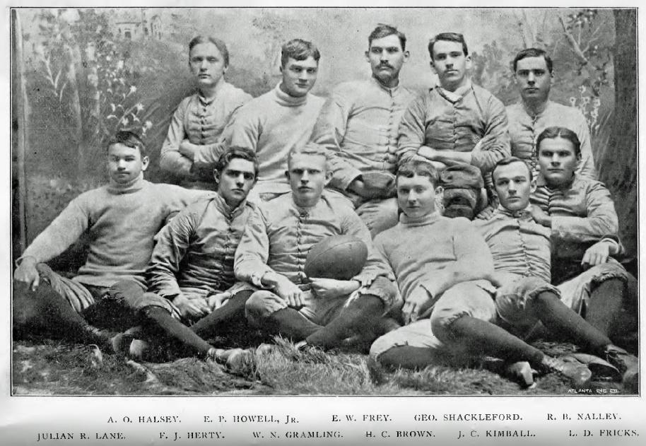 1892 Georgia Bulldogs Football Team Wikipedia