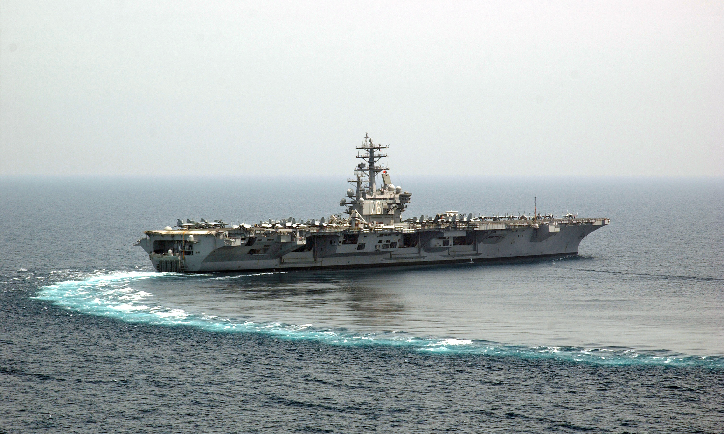 Aircraft Carrier Turn