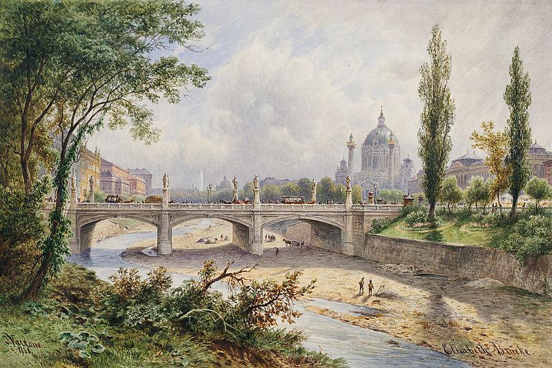 Varrone – Elisabethbrücke, 1888
