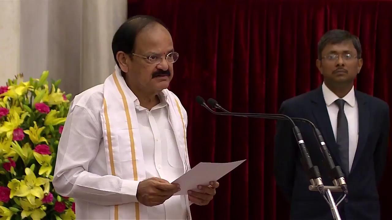 Vice President Venkaiah Naidu admits Linkage of Narmada and Sabarmati rivers benefitted farmers directly