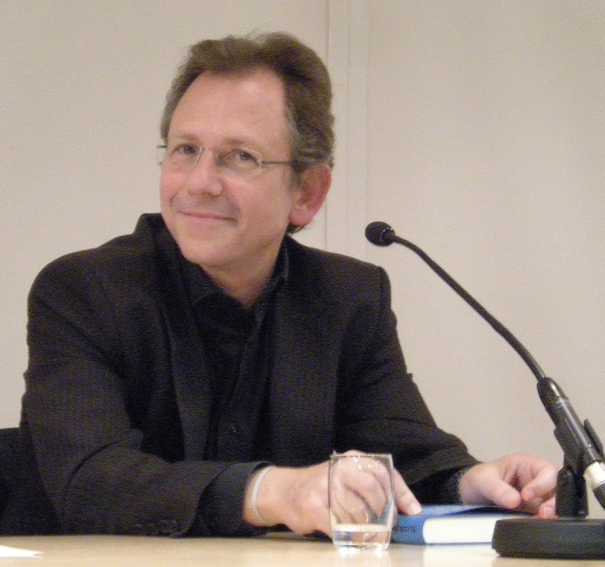 Doron Rabinovici presenting his novel 'Andernorts' in Vienna, on 16 September 2010.
