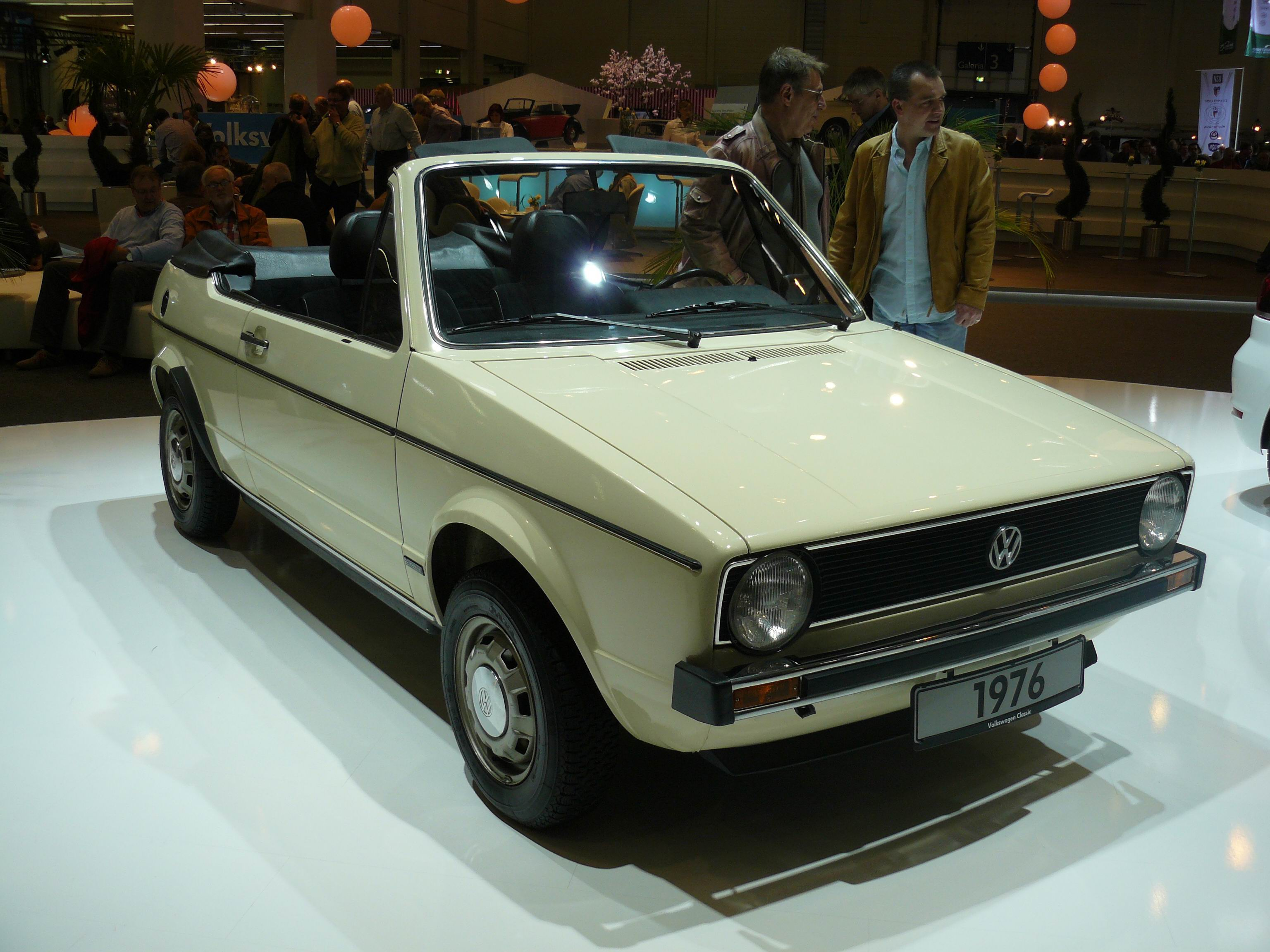 file volkswagen golf 1 cabriolet prototype 1976 vue avant jpg wikimedia commons. Black Bedroom Furniture Sets. Home Design Ideas