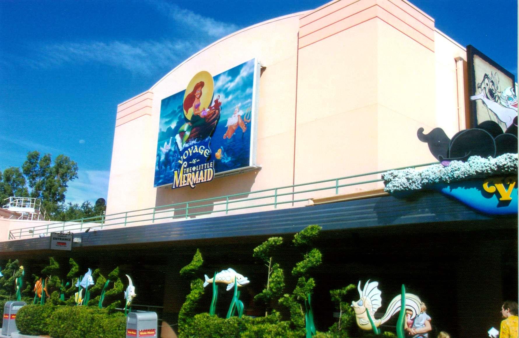 disney hollywood studios the little mermaid nap
