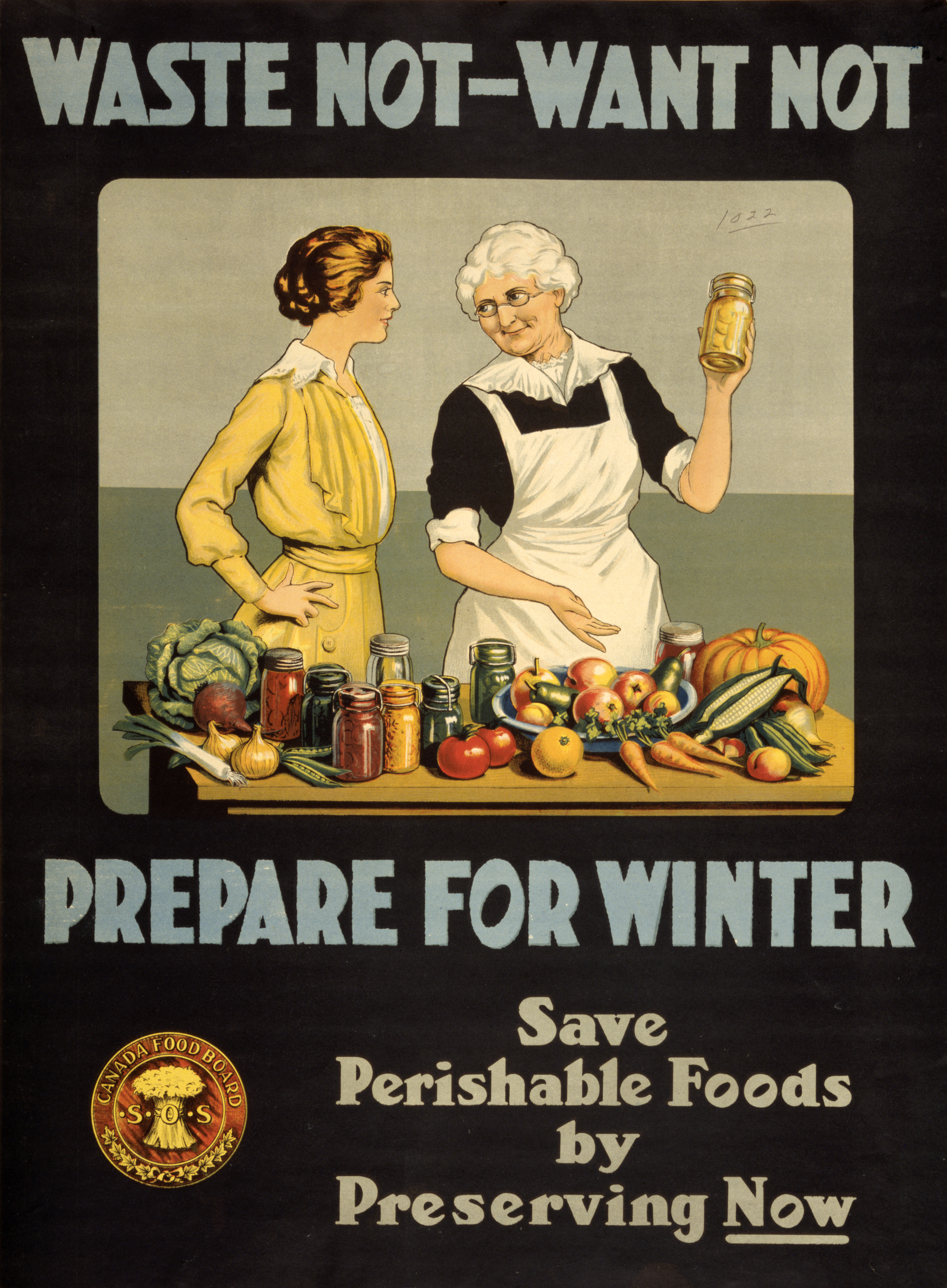 File:Waste not want not WWI poster.jpg - Wikimedia Commons