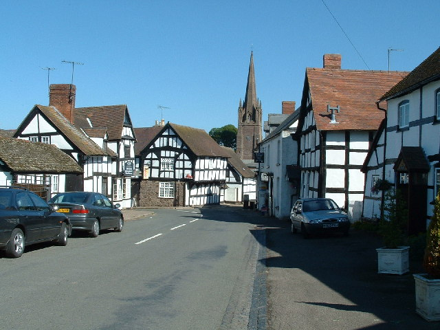 Weobley Village - geograph.org.uk - 89509