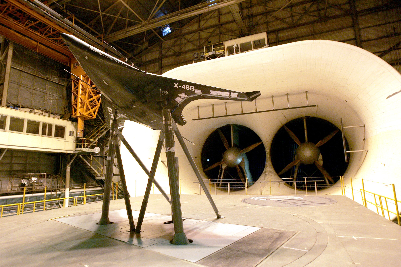 FileX 48B Model In Wind Tunneljpg Wikimedia Commons