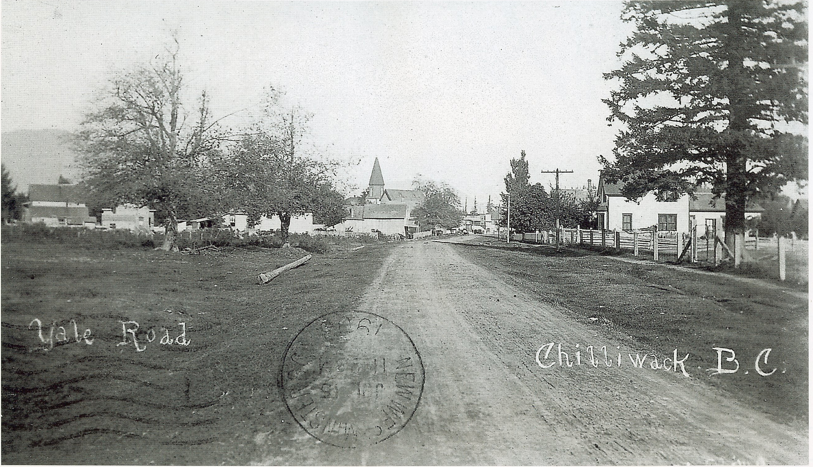 File:Yale Road Chilliwack - 1908 - Site of City Hall.jpgyale city