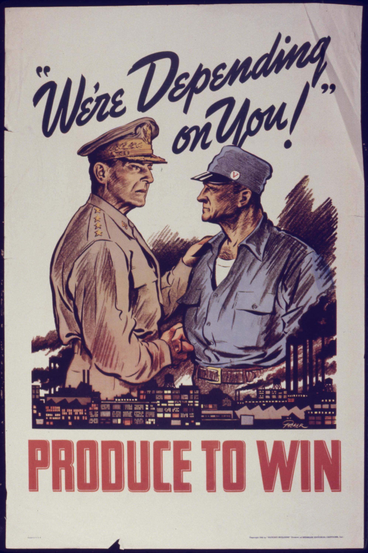 Propaganda de Guerra: We're depending on you!