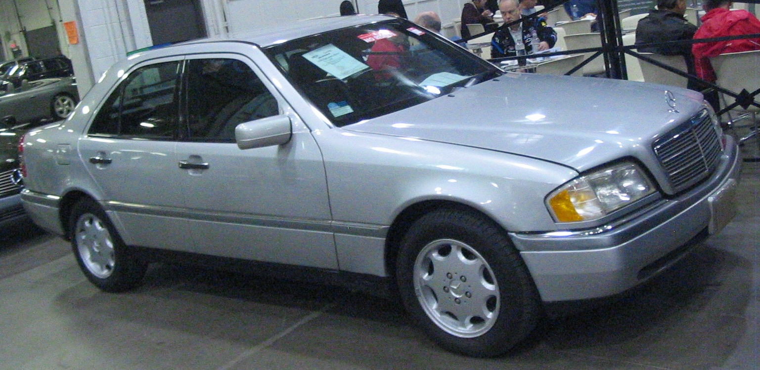File:'97 Mercedes-Benz C280 (Toronto Spring '12 Classic Car Auction