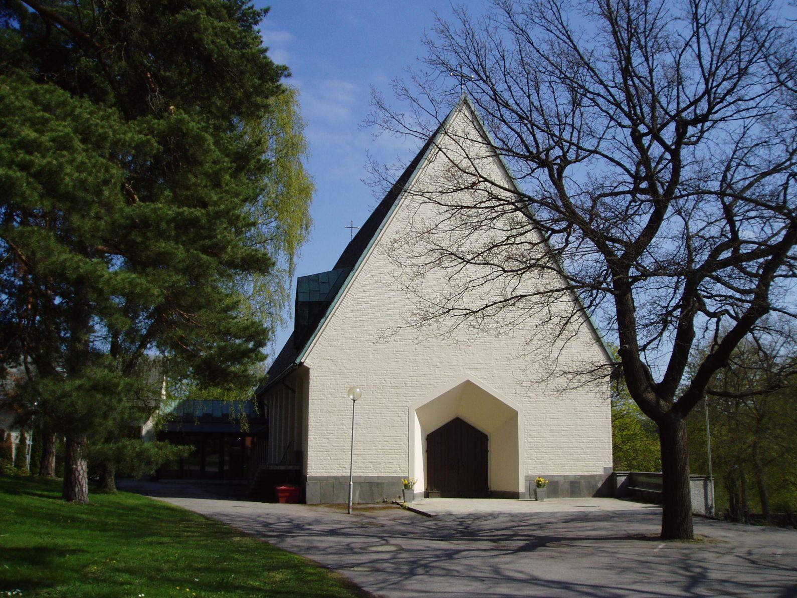 Bild av Ängby kyrka