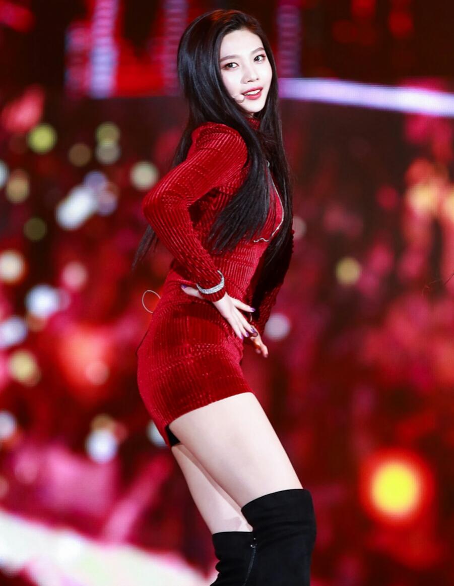 Red Velvet Irene Ice Cream Cake Buns