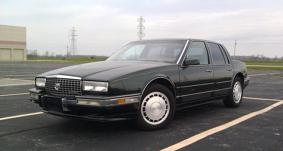 File 1991 Cadillac Seville Sts Jpg Wikimedia Commons