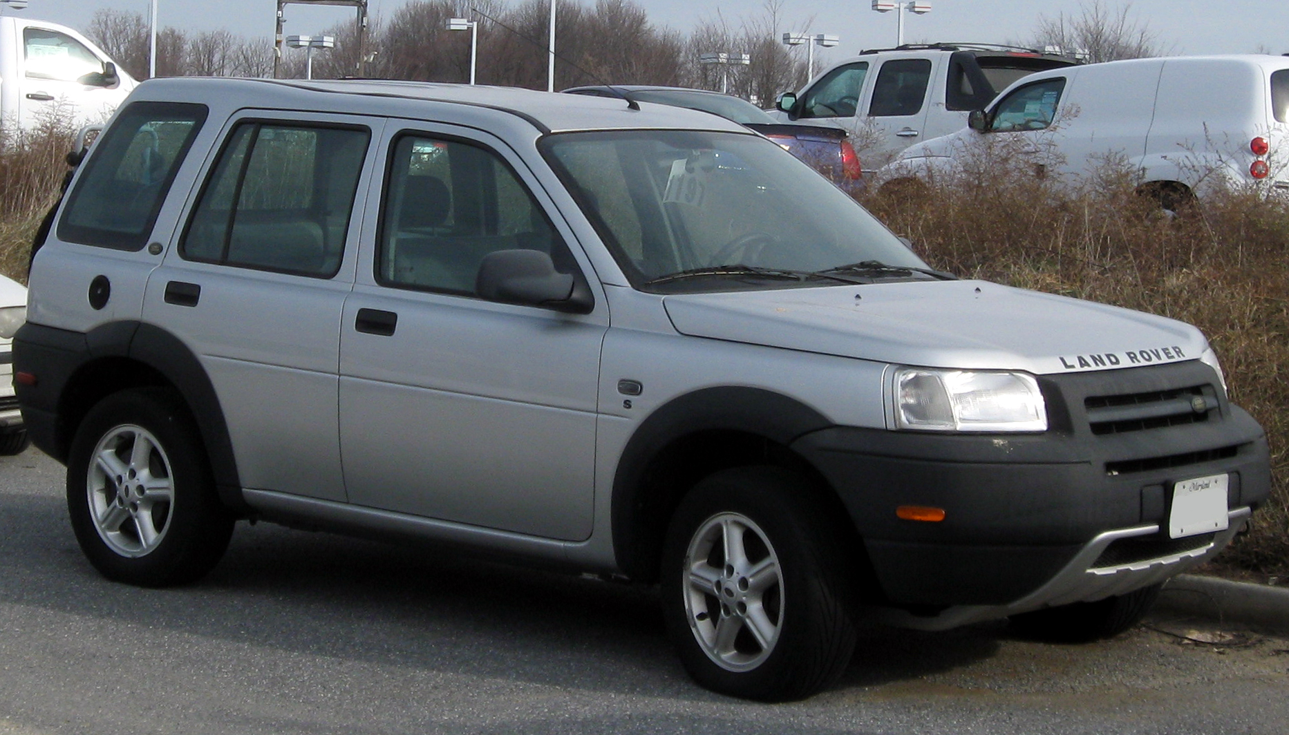 2003 land rover freelander 1 8 related infomation specifications weili automotive network. Black Bedroom Furniture Sets. Home Design Ideas