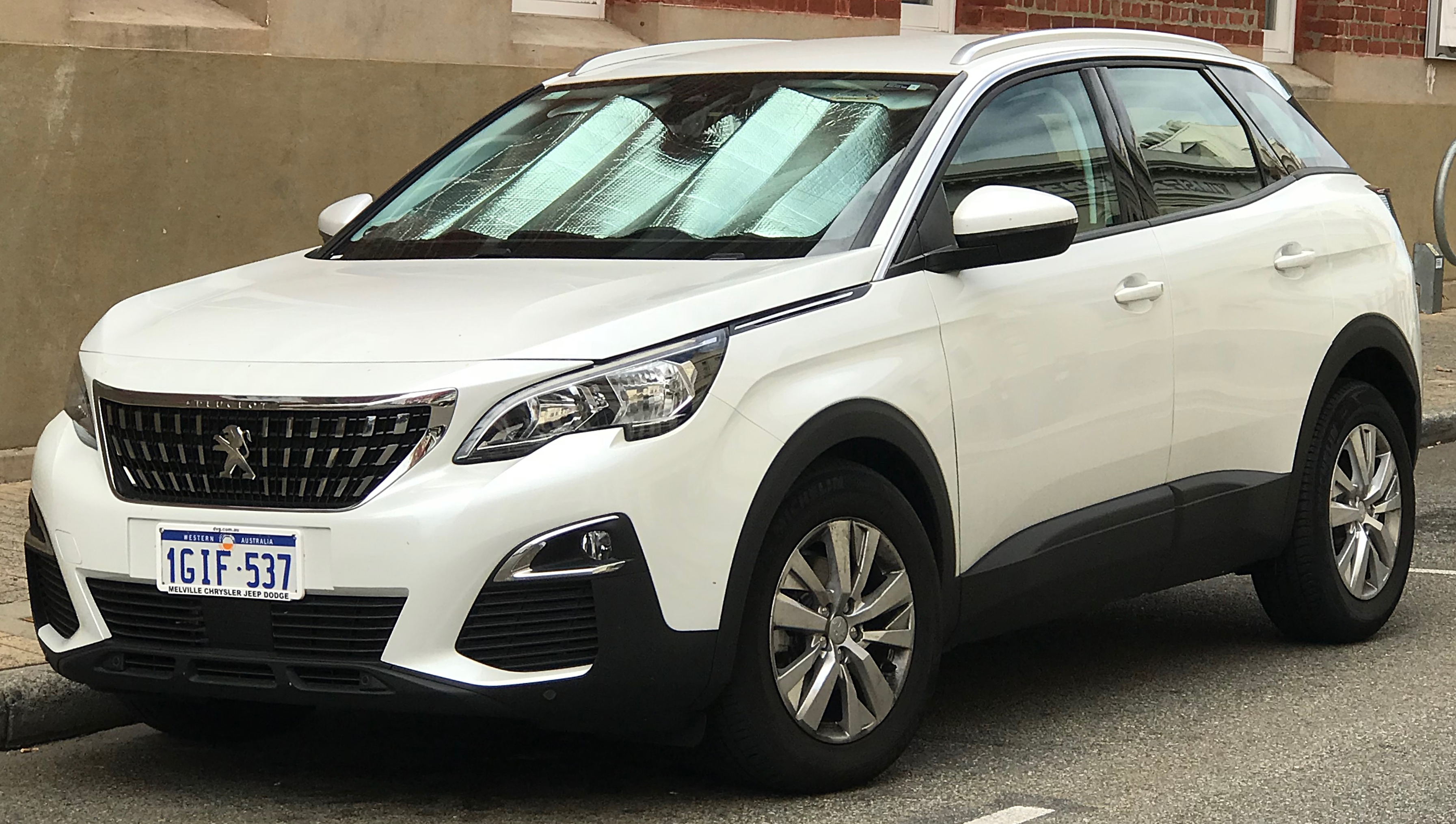 file 2017 peugeot 3008 p84 my18 active wagon 2018 03 13 wikimedia commons. Black Bedroom Furniture Sets. Home Design Ideas