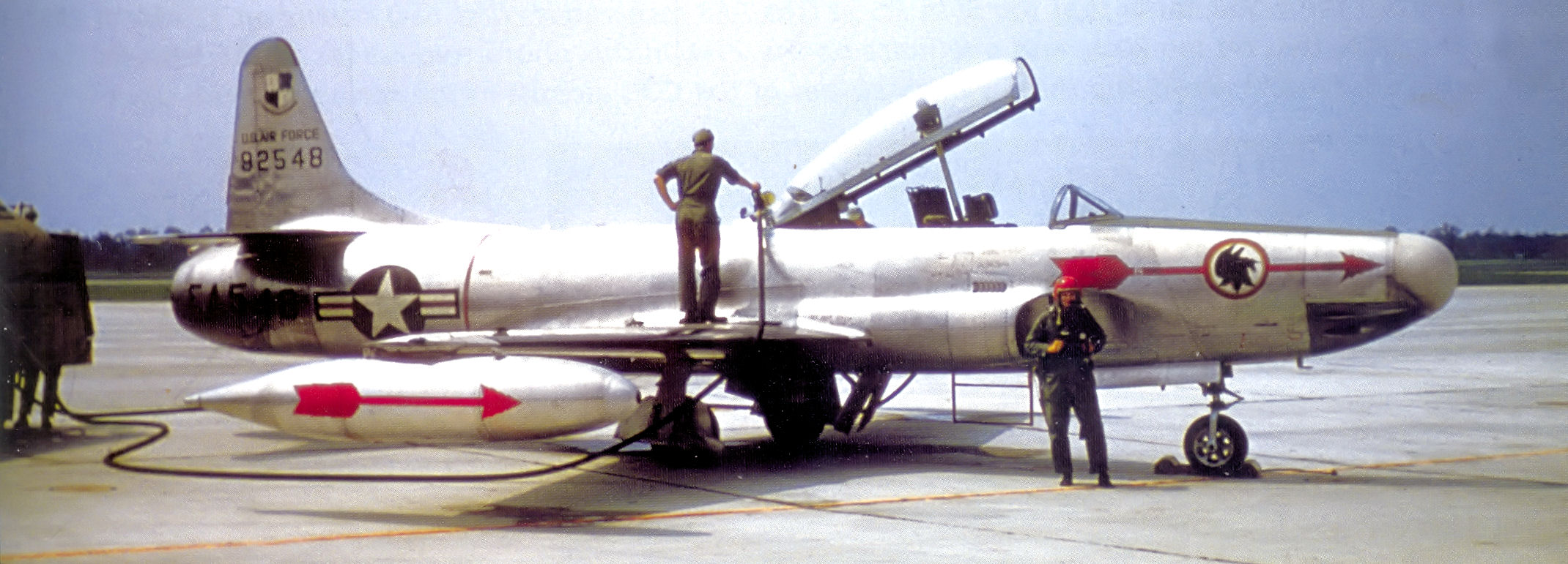 File:2d Fighter-Interceptor Squadron Lockheed F-94A-5-LO 49