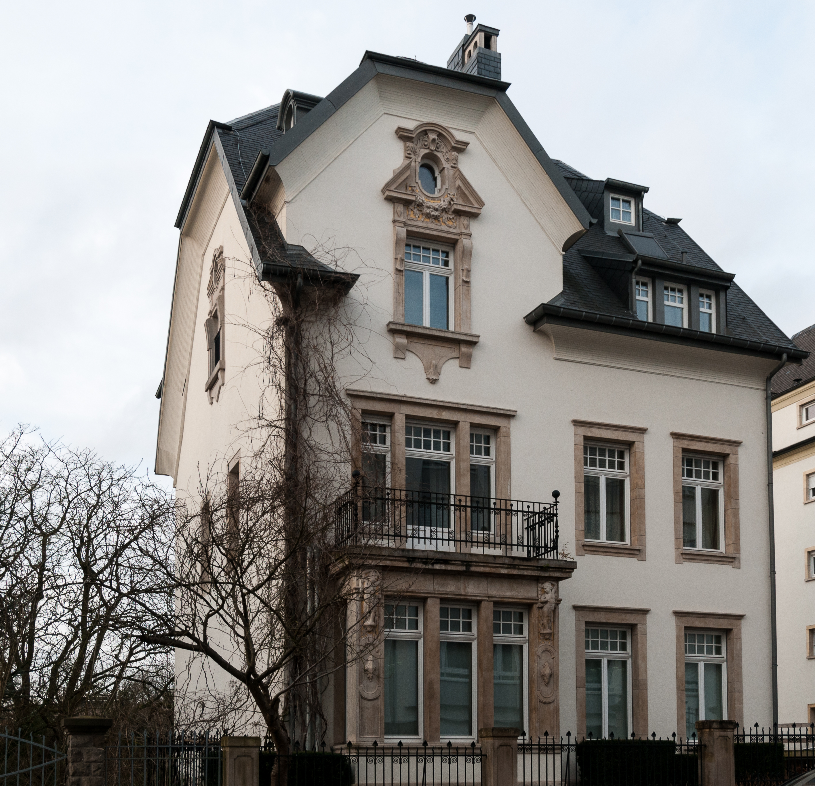 Fichier 59 bd de la p trusse wikip dia for Maison moderne luxembourg wikipedia