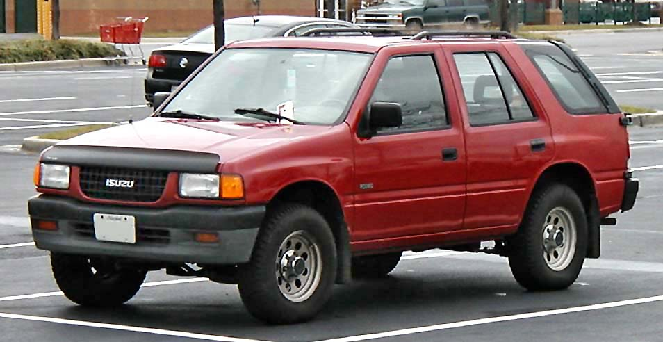 File:91-97 Isuzu Rodeo.jpg - Wikimedia Commons on porsche 928 wiring diagram, cadillac srx wiring diagram, acura rl wiring diagram, toyota sequoia wiring diagram, chevy tahoe wiring diagram, chrysler sebring wiring diagram, nissan pathfinder wiring diagram, mitsubishi endeavor wiring diagram, chrysler crossfire wiring diagram, subaru tribeca wiring diagram, bmw x3 wiring diagram, suzuki xl7 wiring diagram, porsche cayenne wiring diagram, buick regal wiring diagram, toyota celica wiring diagram, ford thunderbird wiring diagram, nissan 200sx wiring diagram, cadillac deville wiring diagram, lincoln ls wiring diagram, infiniti g20 wiring diagram,